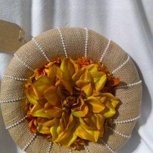 Small burlap wreath